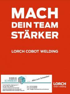 Deckblatt COBOT Schweißtechnik-Schneider + Lorch