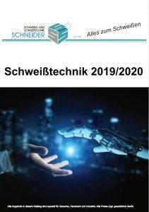 Deckblatt Schweisstechnik 2019 2020 Poster Pakete 2019 Schweißtechnik-Schneider