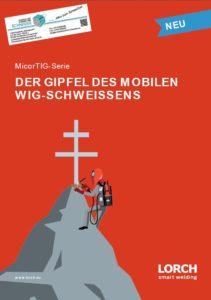 Deckblatt Lorch WIG Schweißgerät Micor TIG Micortig Serie Jörg Schneider Schweisstechnik weldix.de