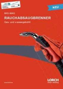 Deckblatt Lorch MIG MAG Rauchabsaugbrenner gasgekühlt wassergekühlt Jörg Schneider Schweisstechnik weldix.de