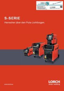 Deckblatt Lorch MAG Schweissgerät S-Serie Herrscher über den Puls Lichtbogen Jörg Schneider Schweisstechnik weldix.de